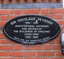 Sir Nikolaus Pevsner