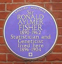 Sir Ronald Aylmer Fisher