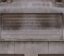 Imperial College foundation stone
