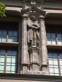 V&A façade - John H. Foley