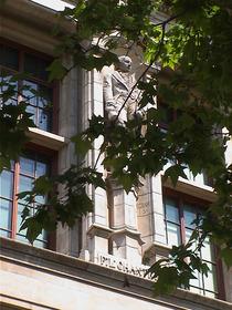 V&A façade - F. L. Chantrey