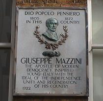 Giuseppe Mazzini - Laystall Street