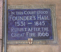 Founders' Hall - Lothbury