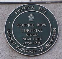 Coppice Row turnpike