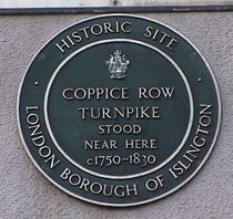 Coppice Row turnpike