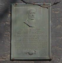 Giuseppe Mazzini - Hatton Garden