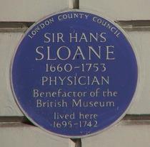 Sir Hans Sloane - WC1