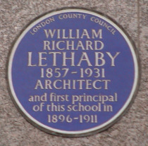 W R Lethaby