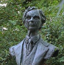 Bertrand Russell bust