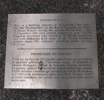 Royal Canadian Air Force  - WW2 HQ, monument
