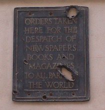 Smiths - war-damaged plaque