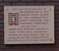 Suffragettes - WC2 - previous building
