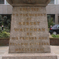 Robert Waithman - obelisk