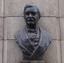 T P O'Connor bust