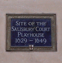 Salisbury Court Playhouse