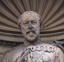 Temple Bar memorial - Edward VII