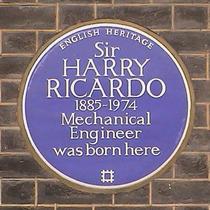 Sir Harry Ricardo