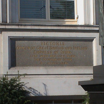 Victoria Foundation stone