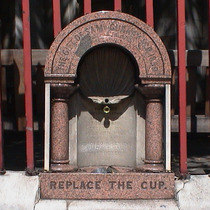 First drinking fountain