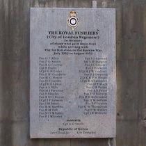 St Sepulchre's Church - Royal Fusiliers