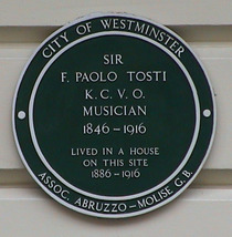 Sir F. Paolo Tosti