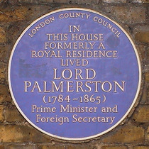 Lord Palmerston - Piccadilly