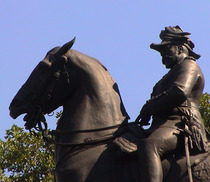 Edward VII statue - Waterloo Place