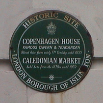 Copenhagen House and Caledonian Market