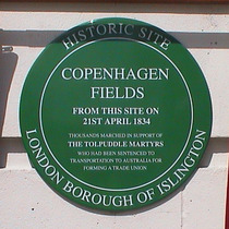 Tolpuddle Martyrs at Copenhagen Fields