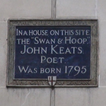 John Keats birthplace