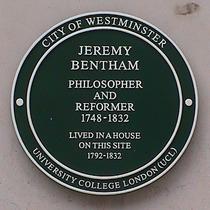 Bentham in Queen Anne's Gate