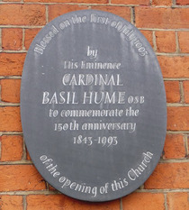 Basil Hume, Duncan Terrace