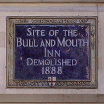 Bull and Mouth Inn - St Martin's le Grand