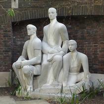 Three Printers statue