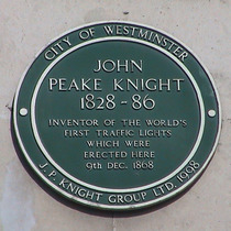 Peake Knight, 1st traffic lights