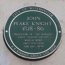 Peake Knight, 1st traffic lights