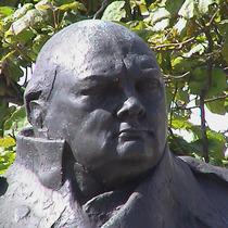 Churchill statue - Parliament Square