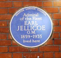 Lord Jellicoe plaque