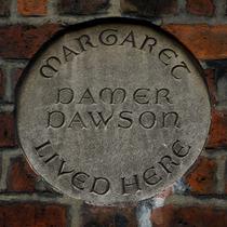 Margaret Damer Dawson - plaque
