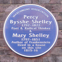 Percy & Mary Shelley