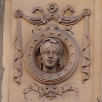 Unidentified head - lady