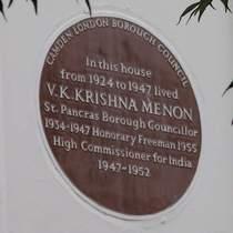 Krishna Menon - NW1