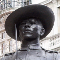 Gurkha soldier