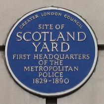 Police at Scotland Yard