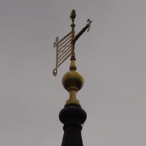 St Lawrence Jewry - weather vane
