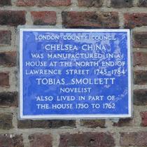 Tobias Smollett & Chelsea China