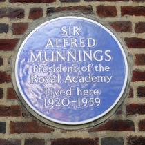 Sir Alfred Munnings - Chelsea Pk Gdns