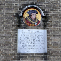 Sir Thomas More plaque - SW3