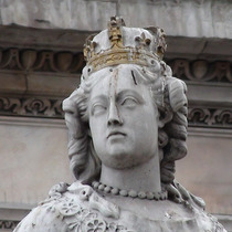 Queen Anne statue, St Paul's