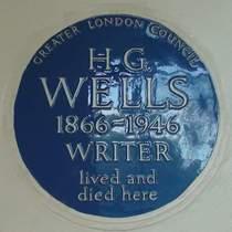 H. G. Wells - Hanover Terrace